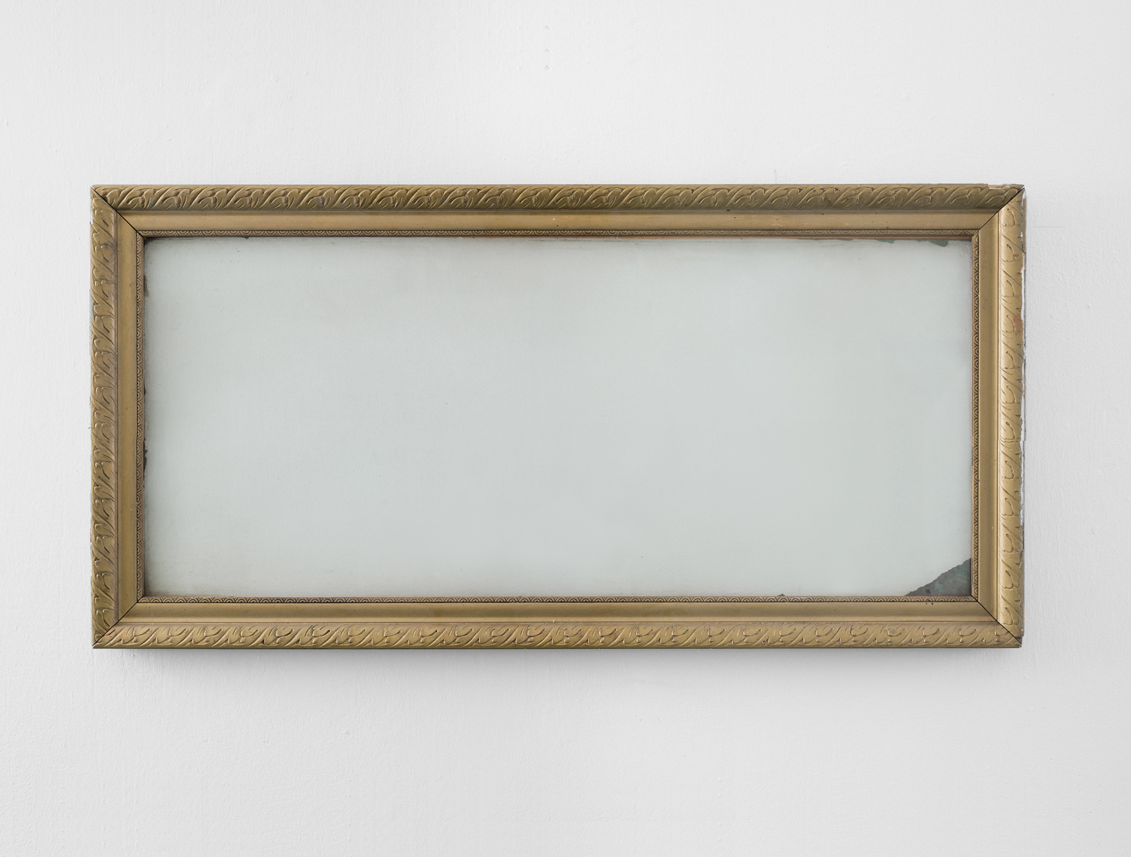 ACTUS PURUS / last supper / 2016 / 132 x 64 x 4 cm / old frames, glass