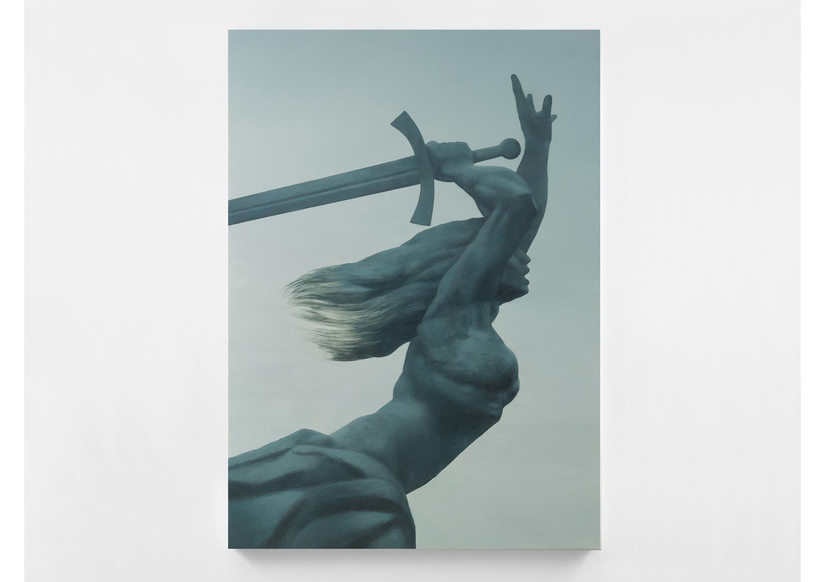 MONUMENT / Warszawa / 2014 / 140 x 200 x 4 cm /  oil on canvas